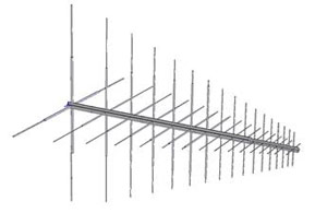 Dual Polarised Log-Periodic Dipole Array