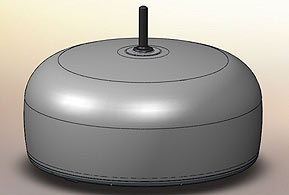 High Frequency Monitoring Antenna